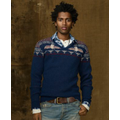 Denim & Supply Ralph Lauren Sweater, V-Neck Double Knit Sweater