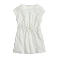 Girls' terry pocket dress