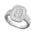 Diamond Ring, 14k White Gold Diamond Ring (3/4 ct. t.w.)