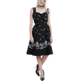 Hell Bunny Adare Feather Dress