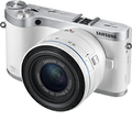 Samsung - NX300 20.3-Megapixel Digital Compact System Camera with 20-50mm Lens