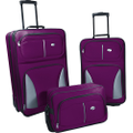 American Tourister - Fieldbrook Luggage Set (3-Piece) - Red