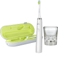 Philips Sonicare - DiamondClean Rechargeable Toothbrush - White/Silver