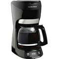 Hamilton Beach - 12-Cup Coffeemaker - Black
