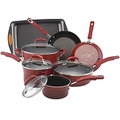 Rachael Ray Porcelain II 10-pc. Cookware Set + BONUS Cake Pan