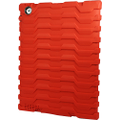 Hard Candy Cases - Shockdrop Ruggedized Case for Apple iPad 3rd Generation - Red/Black