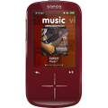 SanDisk - Sansa Fuze+ 4GB* MP3 Player - Red
