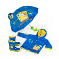 Kidorable Kids Rain Gear, Toddler and Little Boys SpongeBob Raincoat