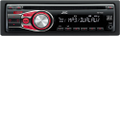 JVC - Car CD/MP3 Player - 80 W RMS - iPod/iPhone Compatible - Single DIN