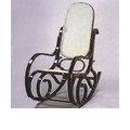 Alston Quality Industries Walnut Rocking Chair