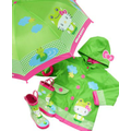 Western Chief Kids Rain Gear, Little Girls Hello Kitty Frog Rain Jacket