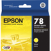Epson - Claria Ink Cartridge - Yellow T078420 Ink Cartridge, Yellow - Yellow