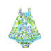 Little Me Tropical Floral Print Dress Set
