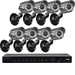 Lorex - Edge2 Series 16-Channel, 8-Camera Indoor/Outdoor Surveillance System