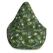 Large Print Skate Camo Bean Bag Chair Cover