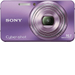 Sony - Cyber-shot 16.1-Megapixel Zoom Digital Camera - Purple/Violet