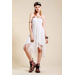 Roxy Beach Fringe-Trim Dress