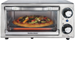Hamilton Beach - 4-Slice Toaster Oven - Stainless-Steel