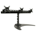 Peerless Industries - LCZ-3F419B Widescreen Triple Monitor Table Stand