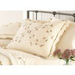 Modern Heirloom Felisa Embroidered 1-Piece Cream Queen/King Sham Set