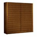 BH Design Alpha Teak Armoire