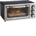 Hamilton Beach - 6-Slice Toaster Oven - Black/Stainless-Steel