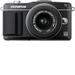 Olympus - PEN E-PM2 16.1-Megapixel Digital Compact System Camera with 14-42mm Zoom Lens - Black