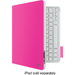 Logitech - Keyboard Folio Case for Apple iPad 2, iPad 3rd Generation and iPad with Retina - Fantasy Pink
