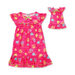 Dollie & Me Kids Pajamas, Girls Nightgown and Matching Doll Outfit