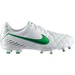 Nike Youth Tiempo Natural IV FG Soccer Cleat - White
