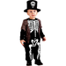 Toddler Boys Happy Skeleton Costume