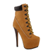 Zigi Jo Lace-Up Booties
