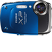 FUJIFILM - FinePix XP20 14.2-Megapixel Digital Camera - Blue