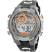 Armitron - Men's Chronograph Digital Sport Watch - Gray/Black/Orange