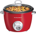 Hamilton Beach - 20-Cup Rice Cooker and Food Steamer - Red