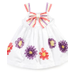 Blueberi Boulevard Baby Dress, Baby Girls Soutache Dress
