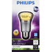 Philips - 470-Lumen, 8-Watt Dimmable A19 LED Light Bulb, 40-Watt Equivalent - White