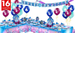 Cinderella Party Supplies Deluxe Party Kit