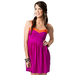 Vintage Havana Women's Magenta and Neon Orange Sweetheart Sleeveless Dress