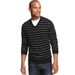 Club Room Sweater, Merino-Wool Blend Pencil Stripe Sweater