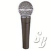 SHURE SM58-LC- VOCAL MICROPHONE. THE SHURE SM58ョ UNIDIRECTIONAL (CARDIOID) DYNAMIC VOCAL MIC...