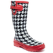 Chooka Classic Houndstooth Pop Rain Boots - A Macy's Exclusive