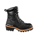 Men's 8-Inch Logger Boot (Black)/Safety Toe