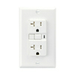 Cooper Wiring Devices 3-Pack 20-Amp White Decorator GFCI Electrical Outlet